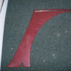 burgundy inner rear dog leg panel behind door right side