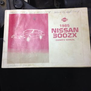 1985 owners manual