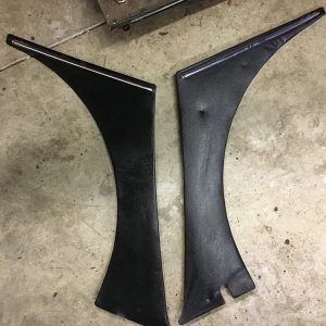 240z inner black dog leg panels