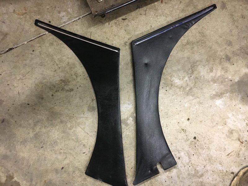 240z inner black dog leg panels