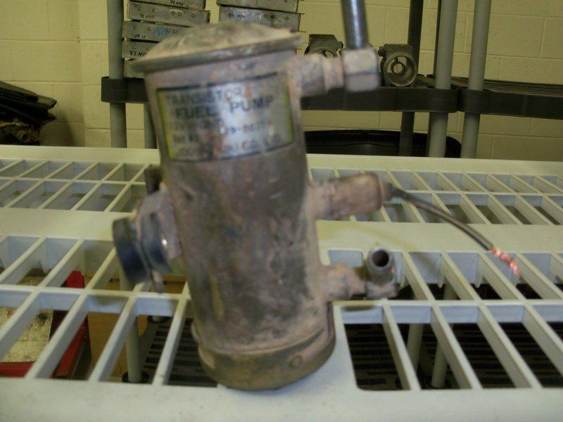 carburated fuel pump