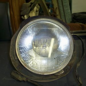 drivers side headlight assembly