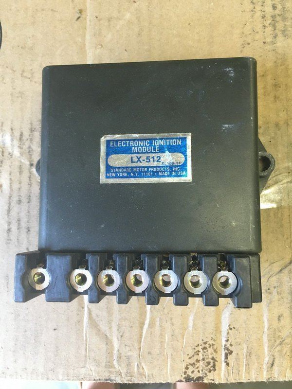 New 1976 electronic ignition module