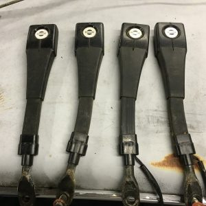 280z seat belt receivers