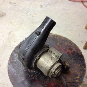Fuel injector fan