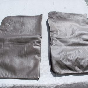 T-top covers for 2 seater in grey