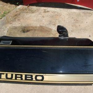 '83 PASSENGER SIDE DOOR TURBO BLACK