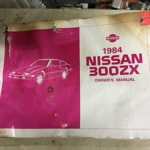 1984 owners manual