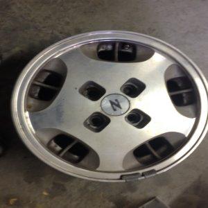 "15"" non turbo 4 lug mag wheel"
