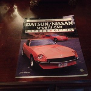 Datsun/Nisan sports car buyers guide book