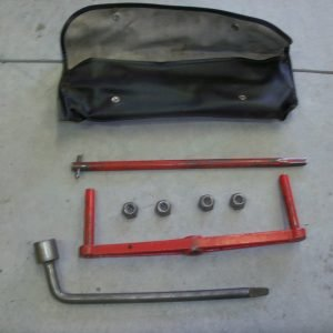 jack set with pouch