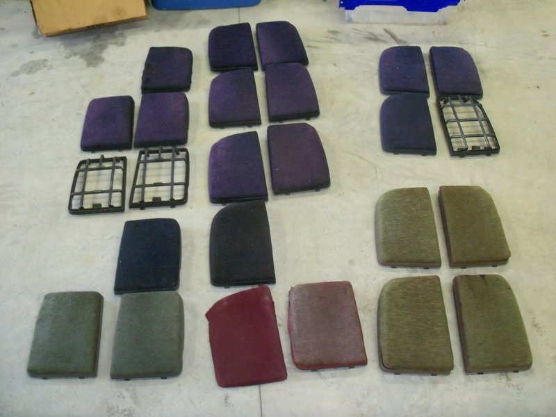 rear speaker covers in numerous colors