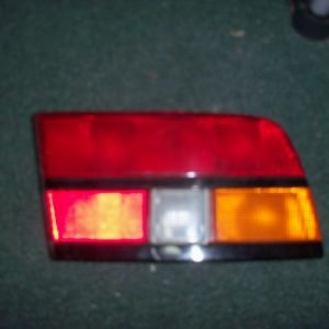 '84-'86 passenger side tail light lens