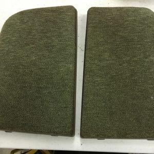 Tan long speaker covers